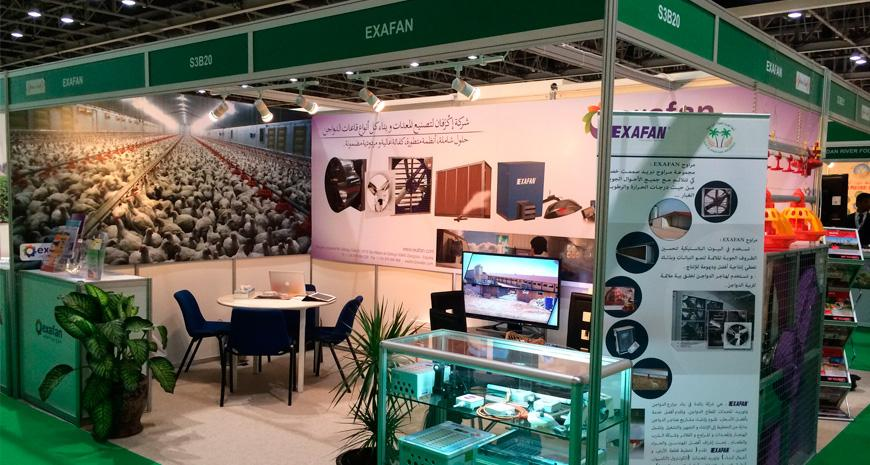 EXAFAN also present in the AGRAME Exhibition 20014 in Dubai.