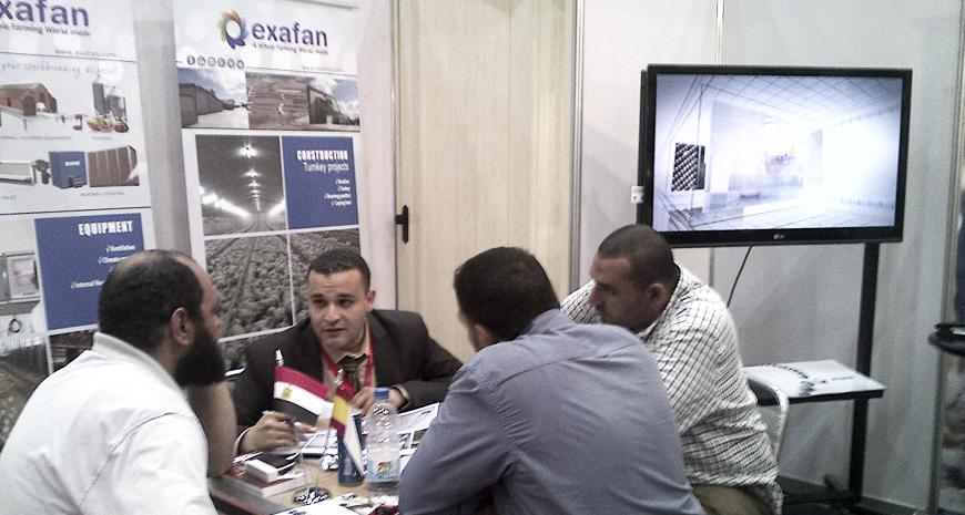 EXAFAN is present at the Agrena 2015 Exhibition held in El Cairo