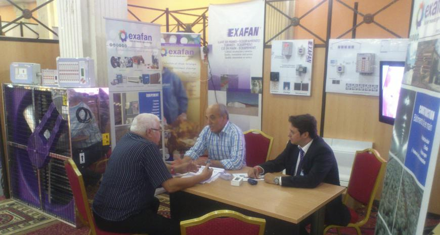 Exafan cooperated in the organization of the PAMED 2015 event