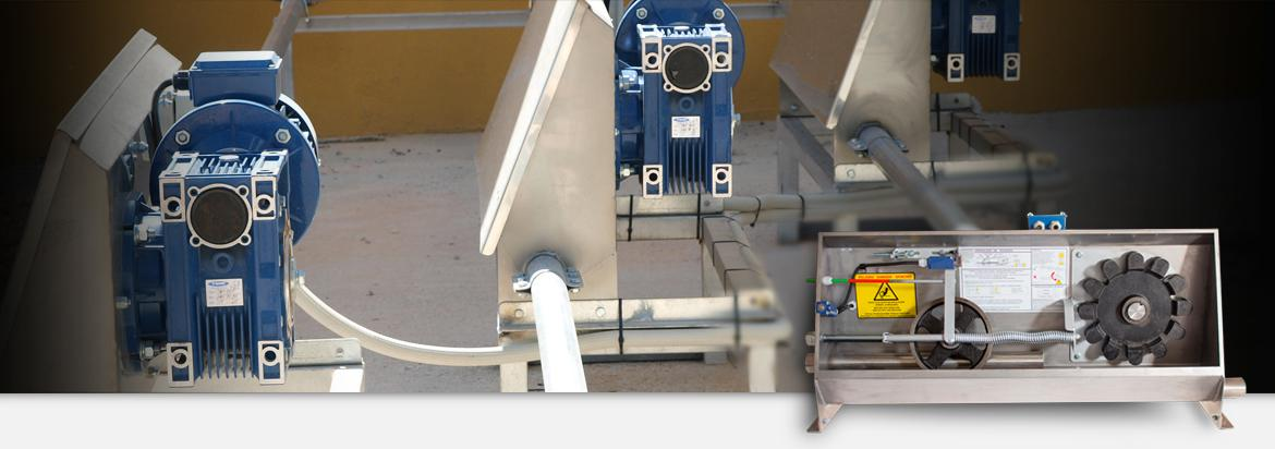 Chain feed conveyor