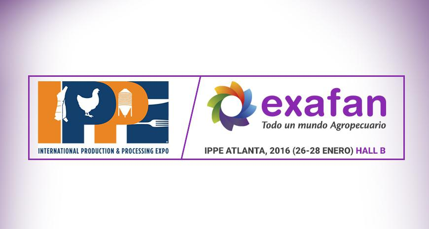 Visit EXAFAN at the IPPE, in Atlanta